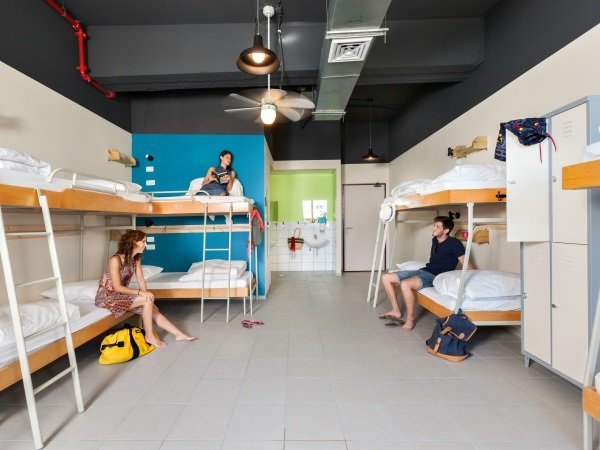 12 mixed dorm abraham hostel eilat